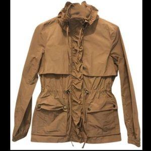 Brown Banana Republic Rain Jacket